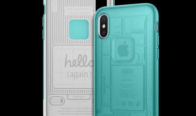 Zum 20. Geburtstag: iPhone-X-Case von Spigen im Retro-iMac-Design