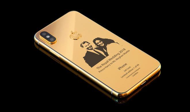 Anlässlich der Hochzeit von Prinz Harry und Meghan: Sonderausgabe des iPhone X