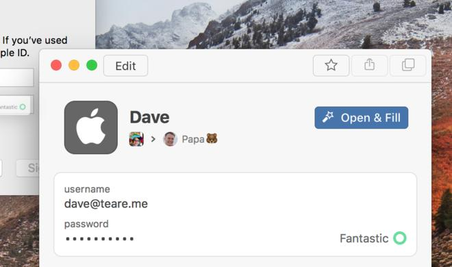 Passwortmanager 1Password 7 für Mac mit Drag & Drop und neuem Design