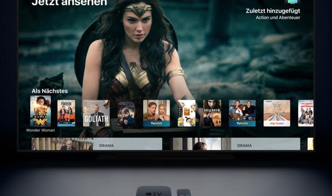 """tvOS 12: Apple kündigt neue Apple-TV-Software mit Dolby-Atmos-Support, neuem """"Earth""""-Aerial und mehr an"""