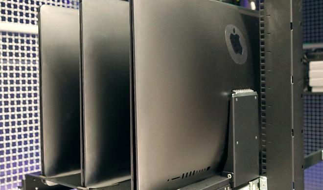 Rechenzentrum stellt sich iMac Pro ins Regal
