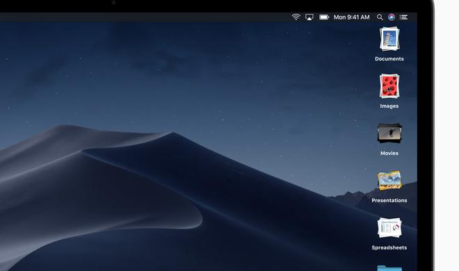 US-Patent-Amt veröffentlicht Marke zu macOS Mojave