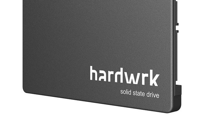 Interne SSD mit 480 GB von hardwrk jetzt mit 26 Prozent Rabatt