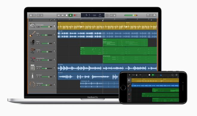 GarageBand am Mac mit neuen Effekten