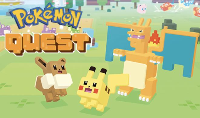 Pokèmon Quest jetzt für iPhone & iPad verfügbar