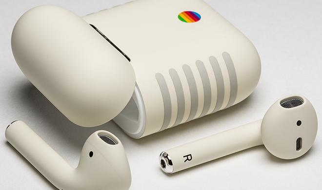 ColorWare: AirPods im Macintosh-Retro-Look