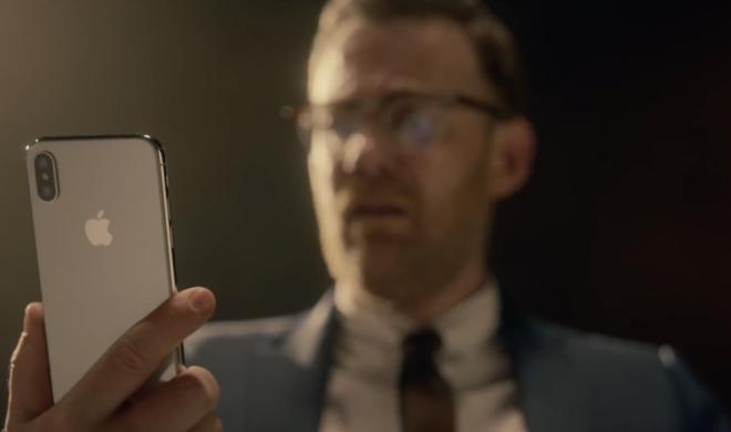 Apple zeigt witzigen Spot zum iPhone X mit Face ID