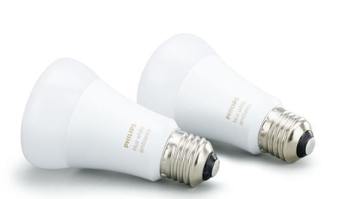 Viererpack Philips Hue White Ambiance E27 Glühbirnen reduziert