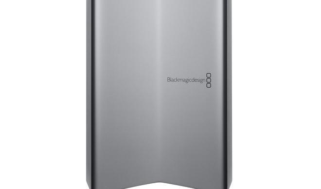 Neue eGPU mit Radeon Pro 580 von Blackmagic Design in Zusammenarbeit mit Apple