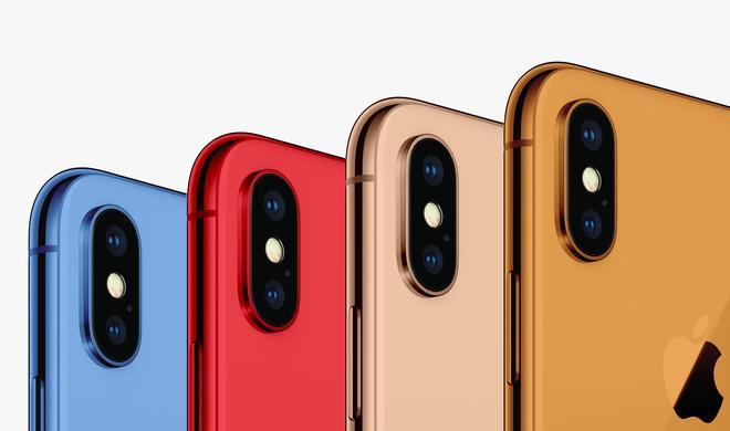 Neues iPhone vermutlich in neuen Farben: Weiß, Schwarz, Gelb, Orange und Blau