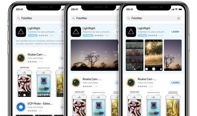 Apple führt App-Store-Werbung in Deutschland ein