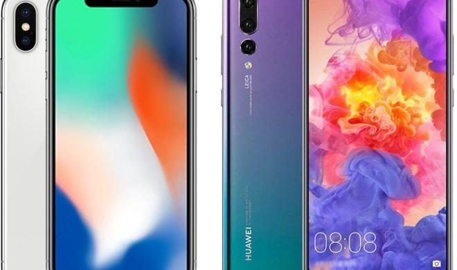 Huawei überholt Apple, aber Samsung bleibt führend