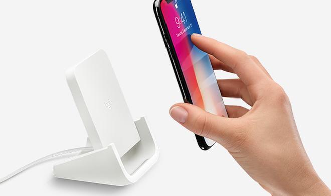 Logitech stellt drahtlosen Ladestand für iPhone X & iPhone 8 vor