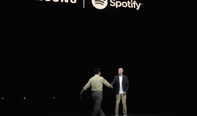 Samsung und Spotify: Ein Pakt gegen Apple?