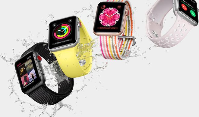 Apple meldet sechs neue Apple-Watch-Modelle an