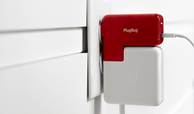 MacBook-Ladegerät mit dem PlugBug Duo um zwei USB-Steckplätze erweitern