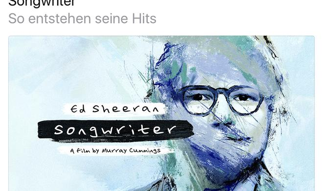 Ed Sheeran klärt exklusiv auf Apple Music auf: So macht er Musik