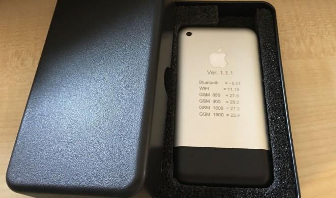 Ein Stück Geschichte: iPhone-Prototyp wird bei eBay versteigert