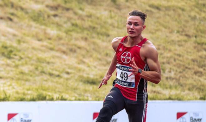 Mehrfacher Sieger der Para-Europameisterschaften trainiert mit Apple Watch