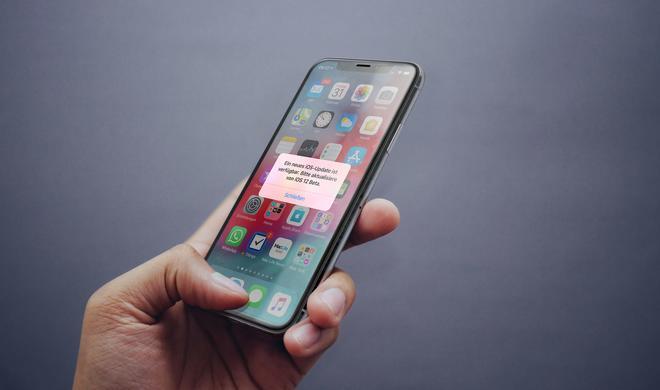 Fehler in iOS-12-Beta: Popup ruft ständig zum Update auf