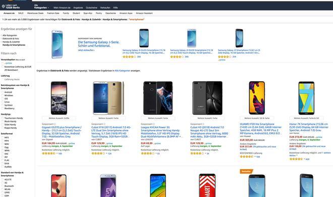 Urteil: Amazon muss gebrauchte Smartphones entsprechend kennzeichnen