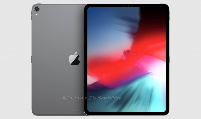 Neue Renderbilder zeigen iPad Pro mit schmalen Rand und neuem Antennendesign