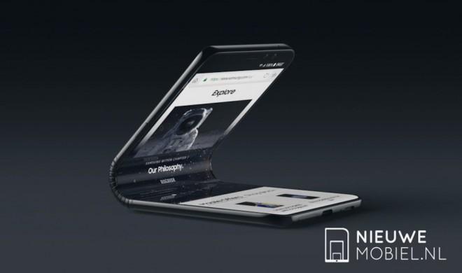 Samsung wird 2018 ein Smartphone mit Klappdisplay vorstellen