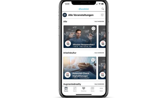 Digitale Woche in Kiel mit eigener App