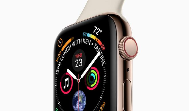 Apple-Leak bestätigt neue Größe der Apple Watch Series 4