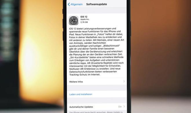 Nun geht nichts mehr: iOS 12 Golden Master ist da