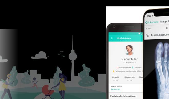 Vivy-App der Krankenversicherungen führt smarte Gesundheitsakte ein
