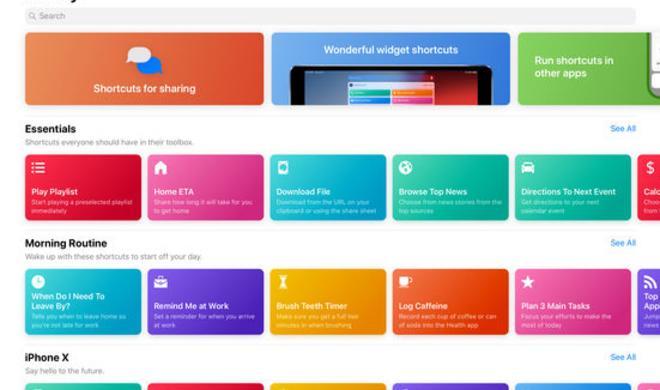 Apple veröffentlicht Kurzbefehle-App