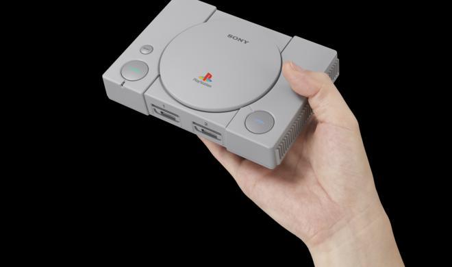PlayStation Classic: Erste Retrokonsole von Sony angekündigt