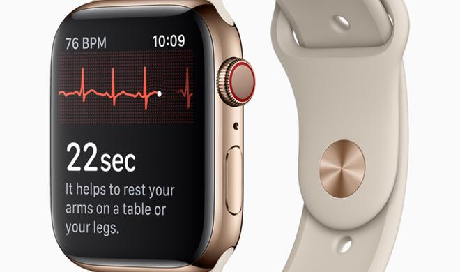 EKG in Apple Watch Series 4: Nächster Halt Kanada?
