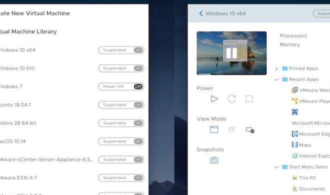 VMware Fusion 11 für macOS Mojave und 18-Core iMac Pro veröffentlicht
