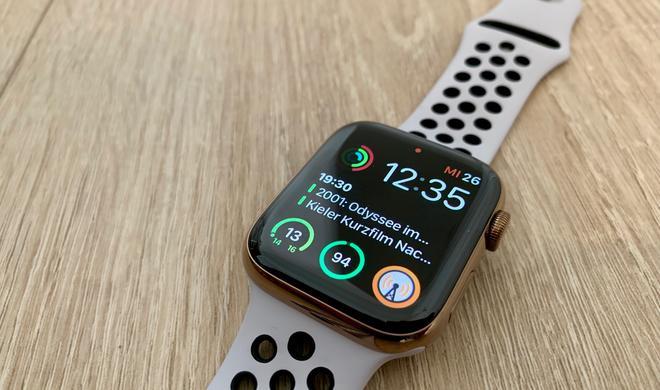 Apple Watch Series 4 im Test: Dieses Gadget ist ein Lebensretter