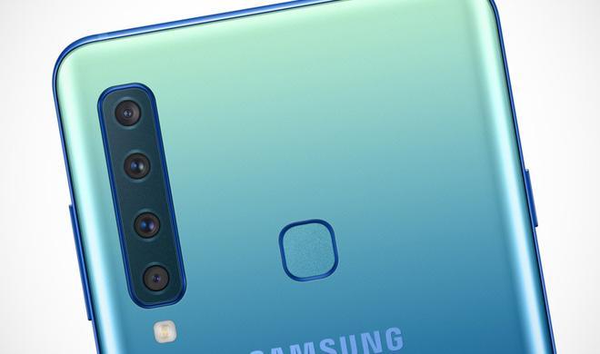 Der Wahnsinn: Samsung A9 mit vier Kameras