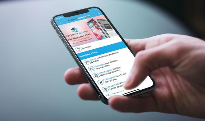 Pocket Academy: Diese App erklärt iOS 12 – kurz & kompakt und nur jetzt zum Einführungspreis
