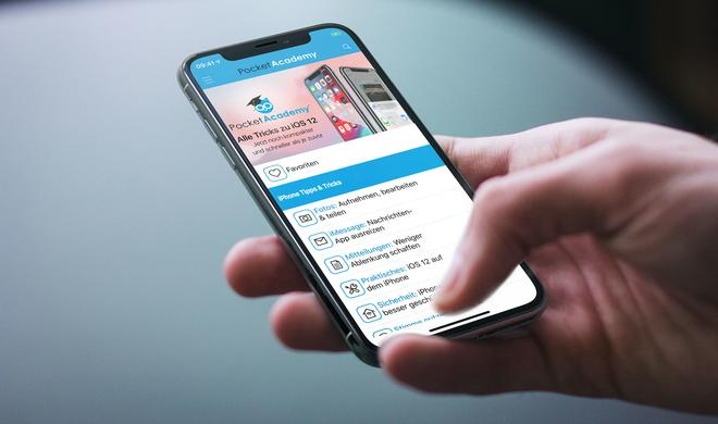 Pocket Academy: Diese App erklärt iOS 12 – kurz & kompakt