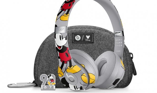 Limitierte Auflage: Apple veröffentlicht Beats Solo 3 im Micky-Maus-Design