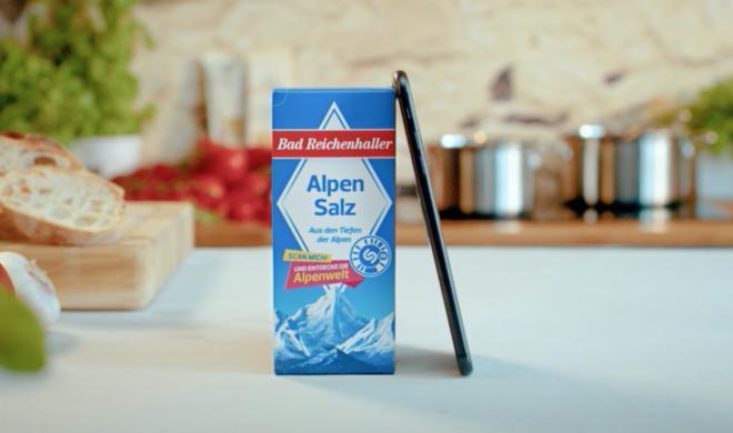 Kurios: Salzhersteller überrascht mit AR-Anwendung