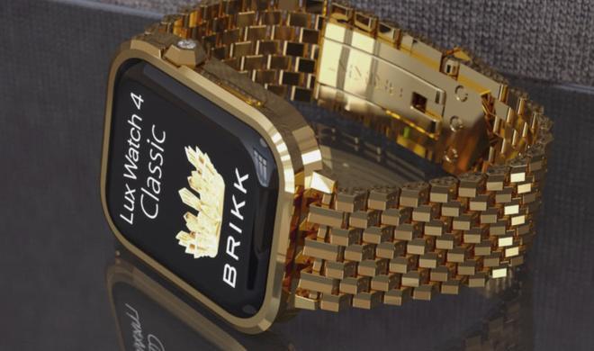 Bling Bling! Apple Watch Series 4 für 1 Million US-Dollar gesichtet