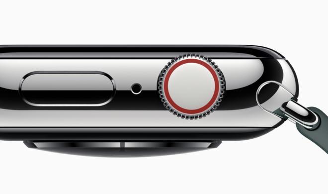 Apple Watch Series 4: So klickt die Digital Crown nicht mehr