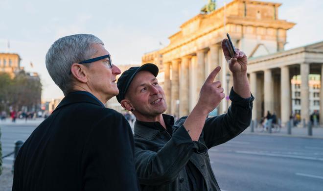 Tim Cook auf Deutschlandreise - Apple-CEO besucht Berlin