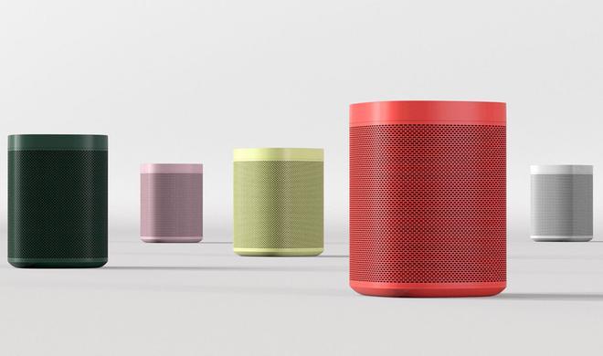 Sonos und Designmarke HAY tauchen den Sonos One in Farbe