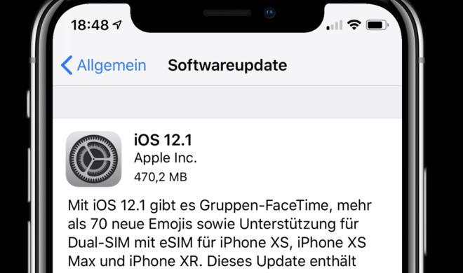 iOS 12.1 mit Dual-SIM, Gruppen-Facetime und verbesserter Kamera-App ist da