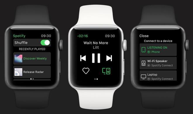 Spotify für Apple Watch nur in verkrüppelter Form