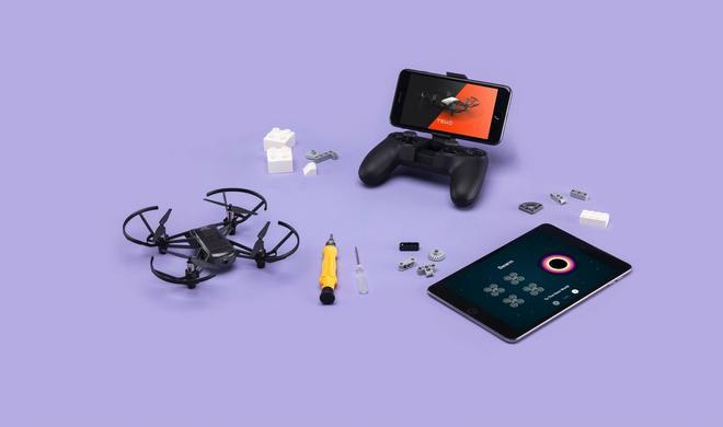 Neue Tello-Drohne: DJI, Ryze und Apple machen gemeinsame Sache