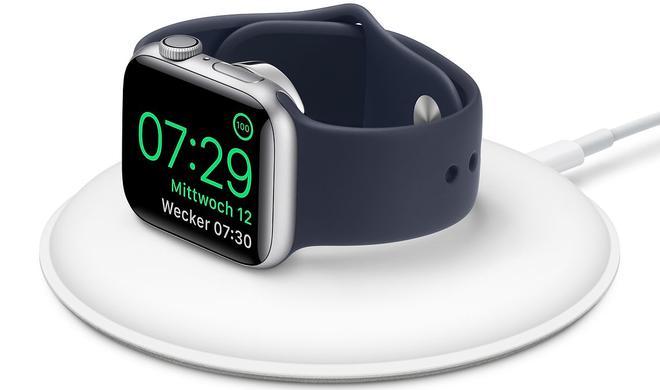 Apple überarbeitet magnetisches Ladedock der Apple Watch
