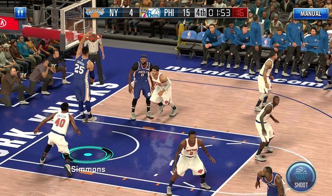 NBA 2K Mobile: Der iOS-Hit von der Apple-Keynote ist da